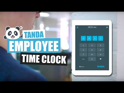 Employee Time Clock by Tanda