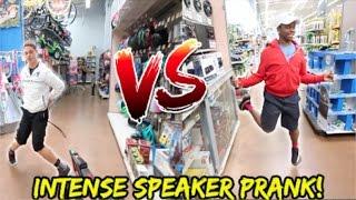 INTENSE WALMART SPEAKER PRANK! (DANCE BATTLE EDITION)