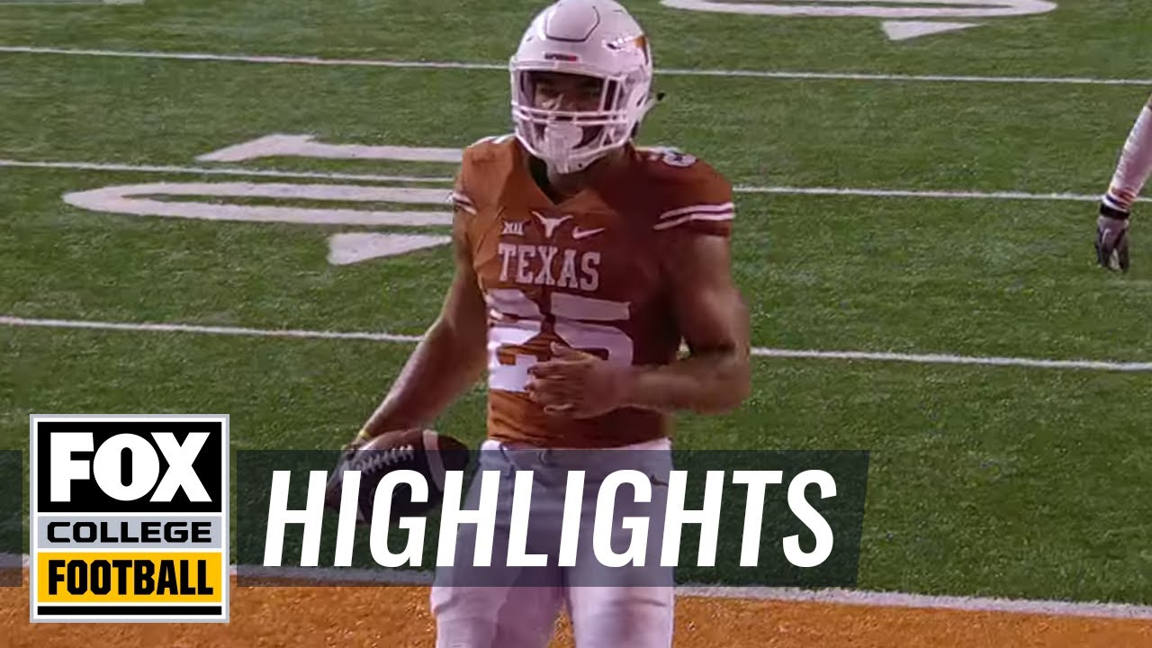Chris Warren Iii Scores 91 Yard Td Against Texas Tech 2015 College