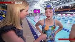 BBC Breakfast at Tollcross International Swimming Centre
