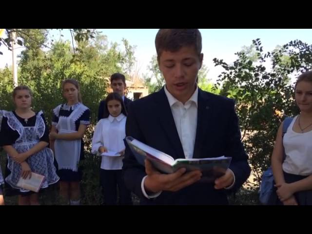 Артем Безуглов читает произведение «Детство» (Бунин Иван Алексеевич)