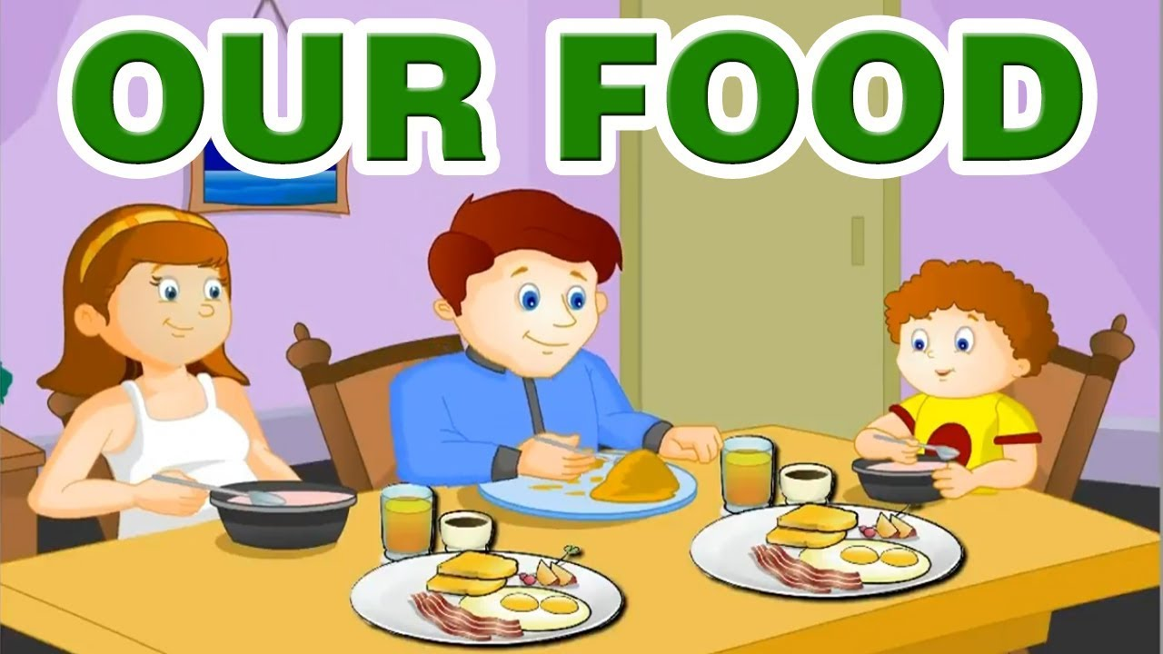 medium resolution of Our Food   Kids Science videos   Learning Videos For Kids   Good Eating  Habits For Kids  Home Revise - YouTube