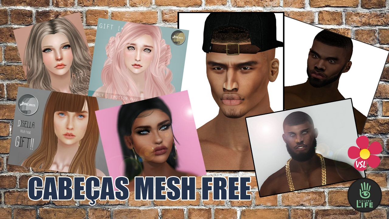 free mesh models for second life