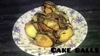 Cake Balls/sweet/dessert/chocolate/quick cake Balls recipe/food/simple cooking/tasty/yummy/kids
