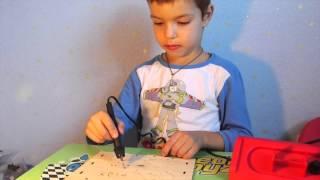 Выжигание по дереву, детское творчество - Burning wood, children's creativity