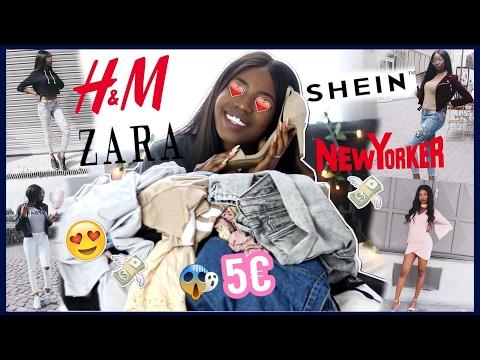 FASHION HAUL TRY ON 2017 💰   H&M, ZARA, NEW YORKER   SOMMER / FRÜHLING