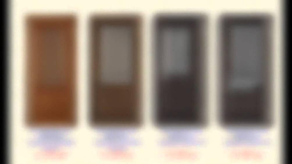 Межкомнатные складные двери, двери книги - открывание двери. - YouTube