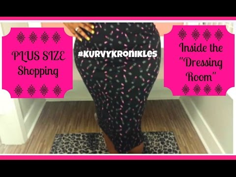 Plus Size Shopping 👗👠👜 Inside the Dressing Room👗