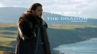Jon Snow // A Wolf and a Dragon