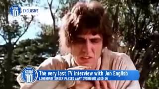 Jon English's Last Interview