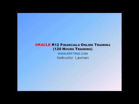 Oracle Financials Training | Demo | 120 Hours Classes to become Expert on Oracle Financials