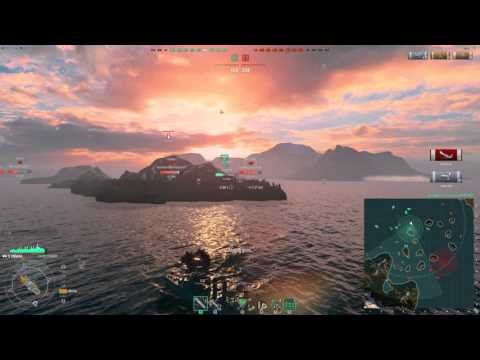 Omaha -17 fires and 210 hits! - World of Warships Gameplay