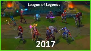League of Legends Season 2017 - Assassin Update (Talon, Rengar, Leblanc, Katarina)
