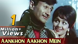 Aankhon Aakhon Mein -  Dev Anand, Asha Parekh, Mahal Song (Duet)