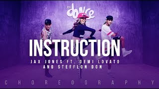 Instruction Jax Jones Ft Demi Lovato And Stefflon Don FitDance Life Choreography Dance Video
