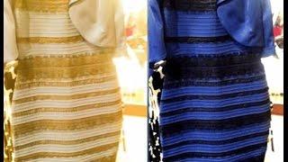 какого цвета платье Бело золотое ? Черо синиее ? какого цвета платье?