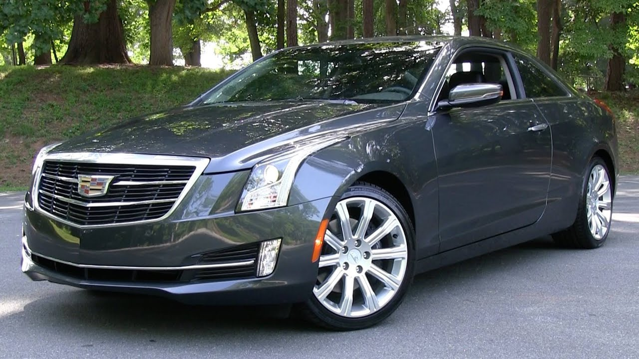 2015 cadillac ats coupe 2 0t start up  road test  and in depth review
