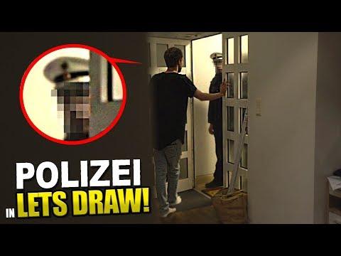 POLIZEI stürmt Lets Draw Folge!