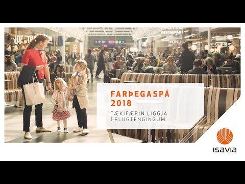 Morgunfundur Isavia: Farþegaspá