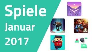 Top Spiele für Android & iOS - Januar 2017