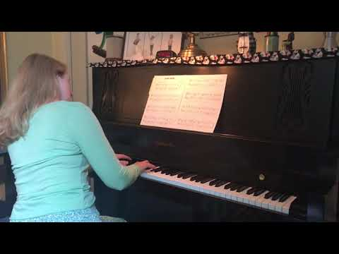 Green Shade RCM Level 6 List C Played By Rebekah Maxner