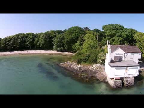 Penrhos Drone flight and inland sea