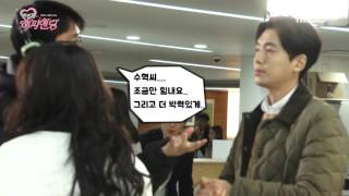 [BTS] 160122 One More Happy Ending Jang Nara & Jung Kyung Ho @ Wedding Registry