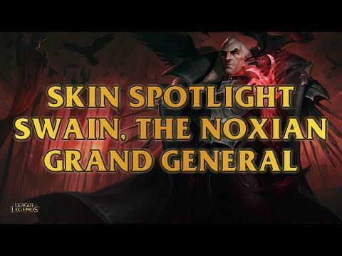 Swain, The Noxian Grand General Skin Spotlight