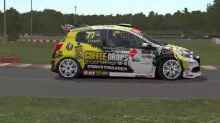 Clio WRX @ Quebec Superkarts Track.
