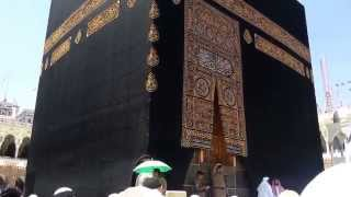 Kenangan Sholat Jum'at di depan Ka'bah saat Umroh tanggal 22 Maret 2013