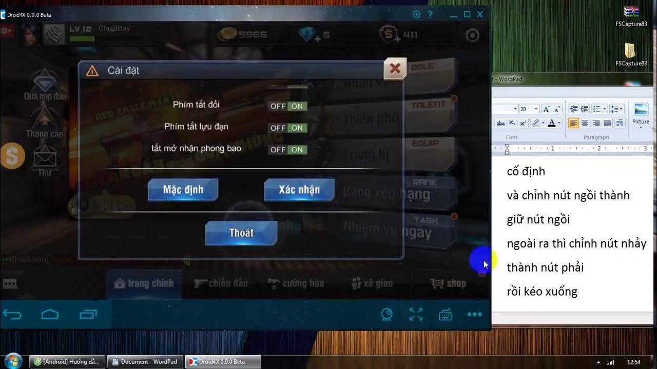 [Hướng Dẫn] Tập Kích trên Máy Tính PC Chỉnh và Fix lỗi chuột. Free