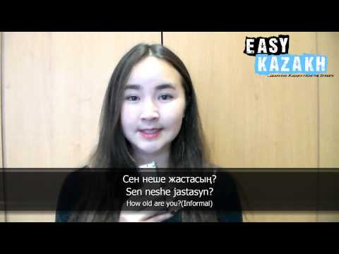 12 phrases for basic conversation in Kazakh - Easy Kazakh Basic Phrases (1)