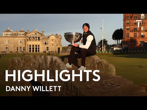 Danny Willett Round 4 Highlights | 2021 Alfred Dunhill Championship