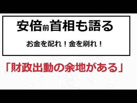 【隠居TV】特別定額給付金「安倍前総理も語る」