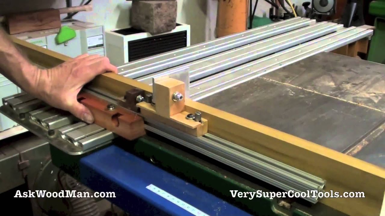 Sliding Table Design Update Aluminum Extrusions And