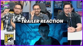 "Stranger Things | Season 2 Comic Con ""Thriller"" Trailer Reaction"