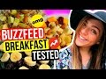 Buzzfeed Breakfast Ideas TESTED! Healthy Vegan Breakfast Ideas For School! Nichole Jacklyne