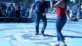 Street Salsa Dancing (Literally)