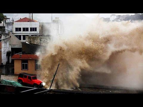Taiwan evacuates 5000 people ahead of Typhoon Megi | Oneindia News