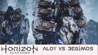HORIZON ZERO DAWN -ALOY VS BÉGIMOS CORROMPIDOS-
