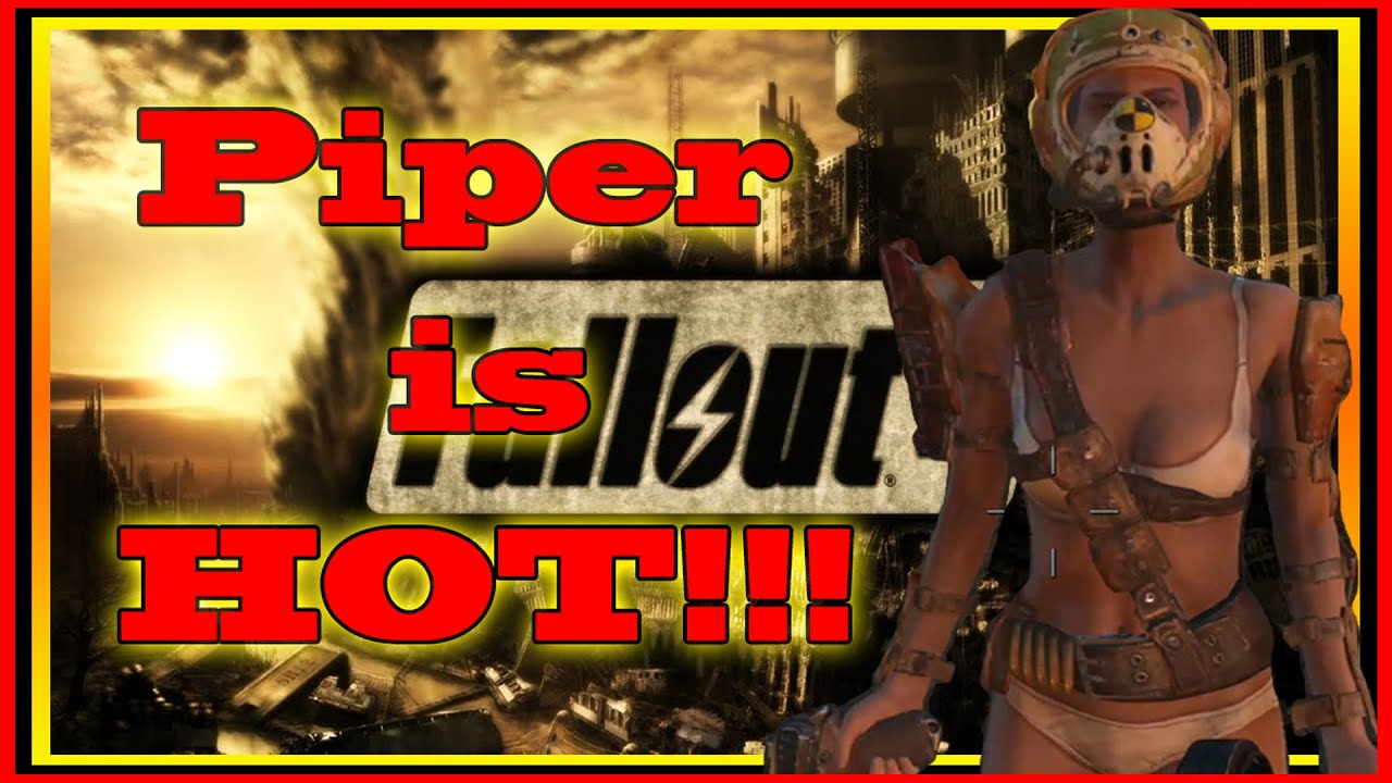 Fallout 4s Piper is hot!!! - YouTube