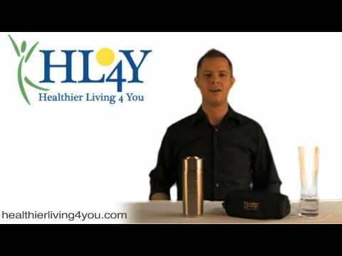 HL4Y AlkaMate - Alkaline Nano Energy Cup, Alkapod, Nano Cup, Alkaline Water