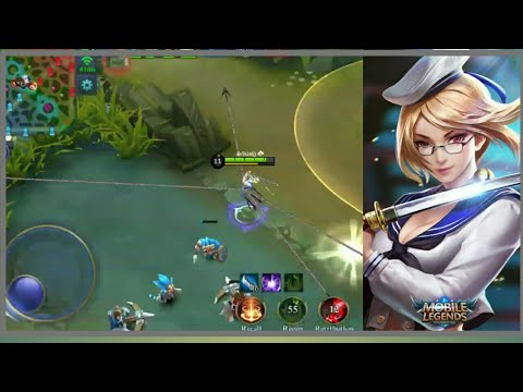 Noob Try Using Fanny in Rank Game - 4 Cable Trick | Mobile Legends