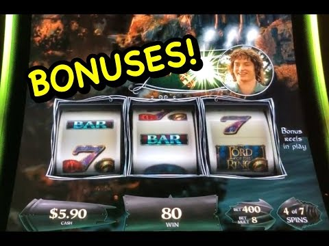 Lord Of The Rings Slot Bonuses