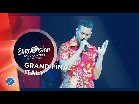 Italy - LIVE - Mahmood - Soldi - Grand Final - Eurovision 20