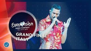 Italy   Live   Mahmood   Soldi   Grand Final   Eurovision 2019