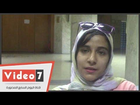 اليوم السابع : بالفيديو.. طالبة تناشد وزير التعليم العالى الاهتمام بالموهوبين داخل الجامعات