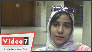 بالفيديو طالبة تناشد وزير التعليم العالى الاهتمام بالموهوبين داخل الجامعات