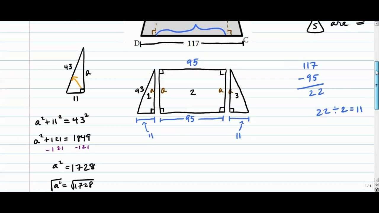 Isosceles Trapezoids  Altitudes (more Challenging)
