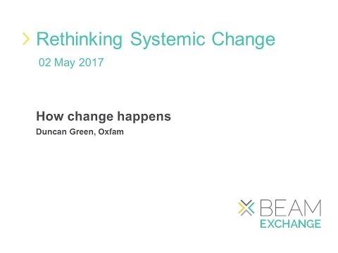 Duncan Green   How change happens